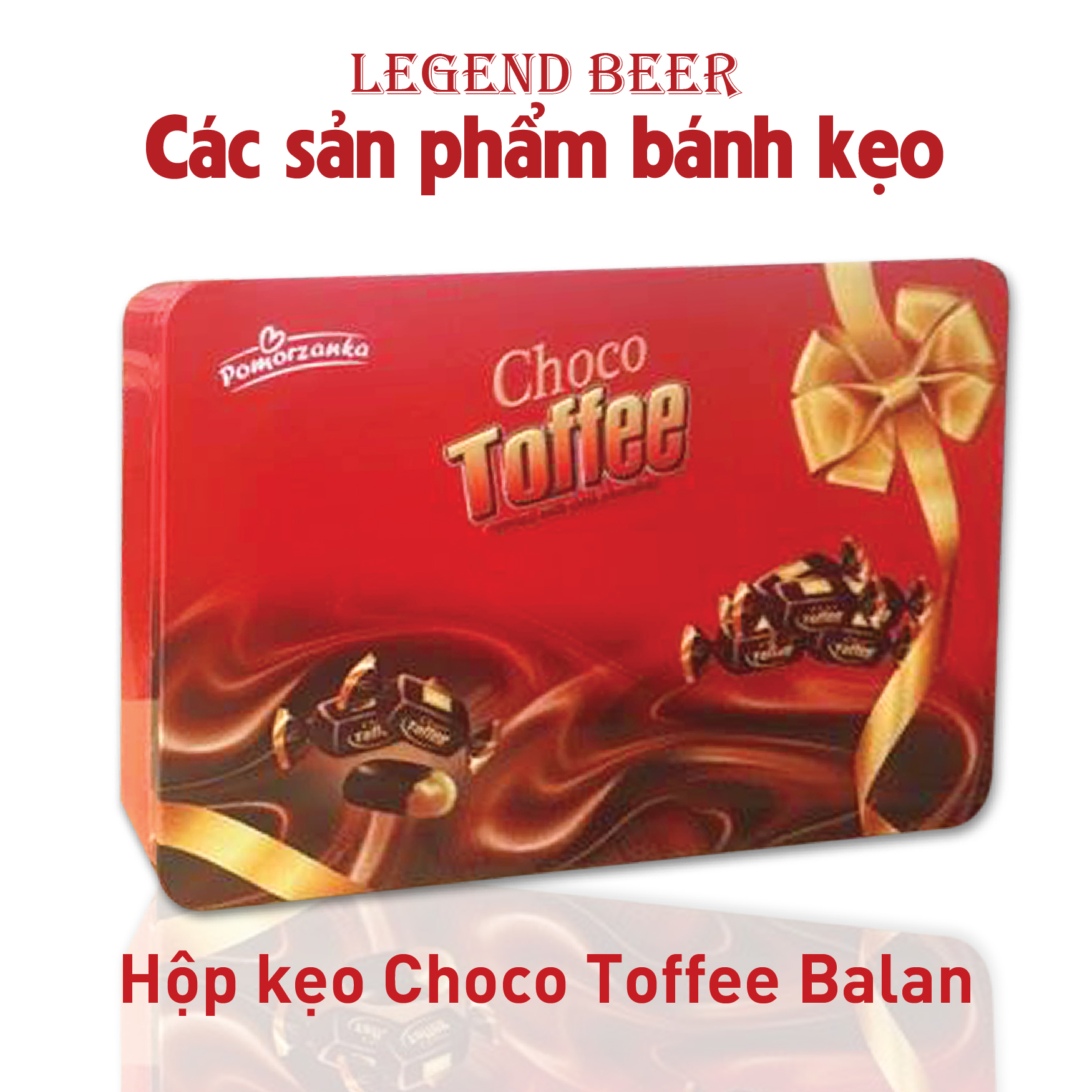 Hộp kẹo Choco Toffee Balan