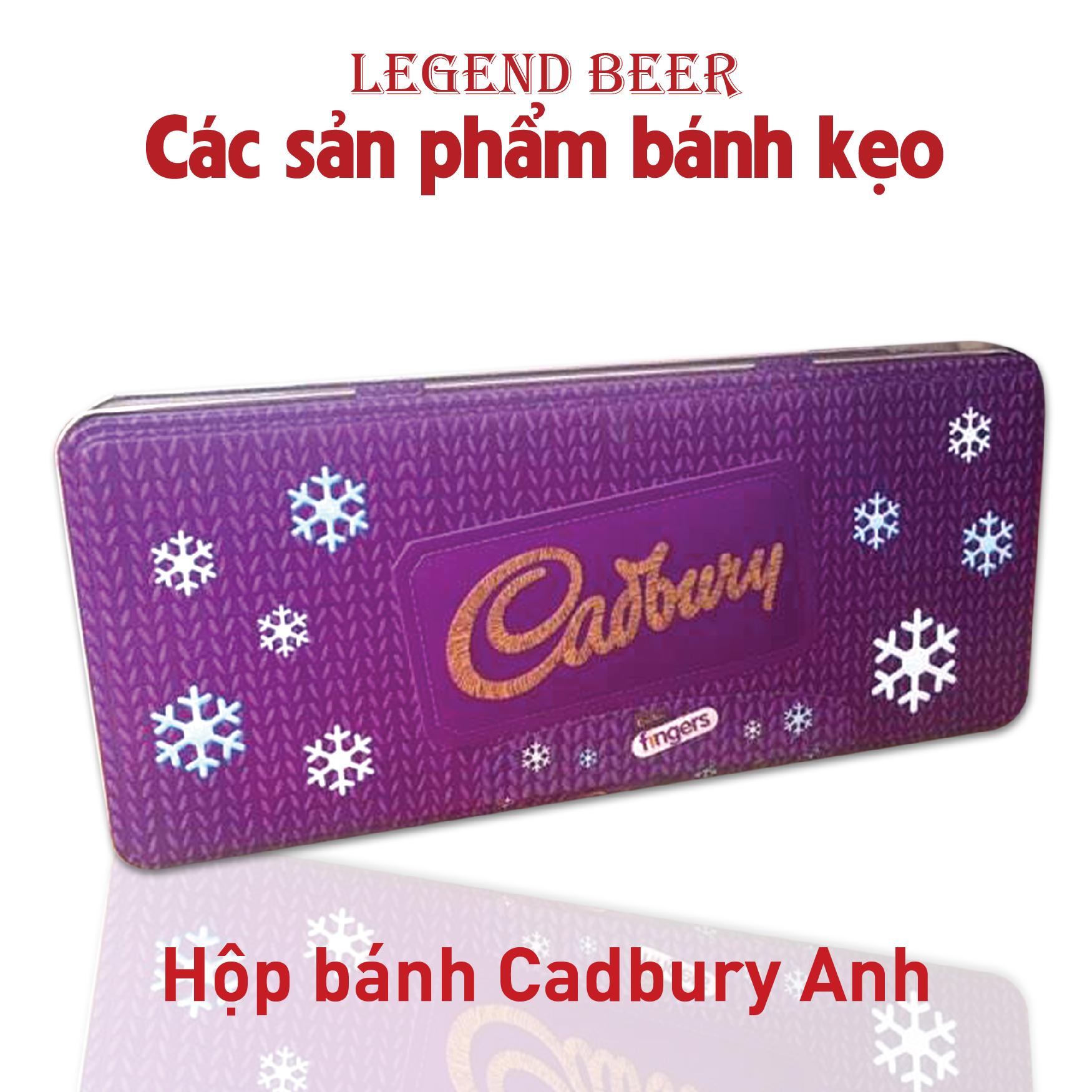 Hộp bánh Cadbury Anh