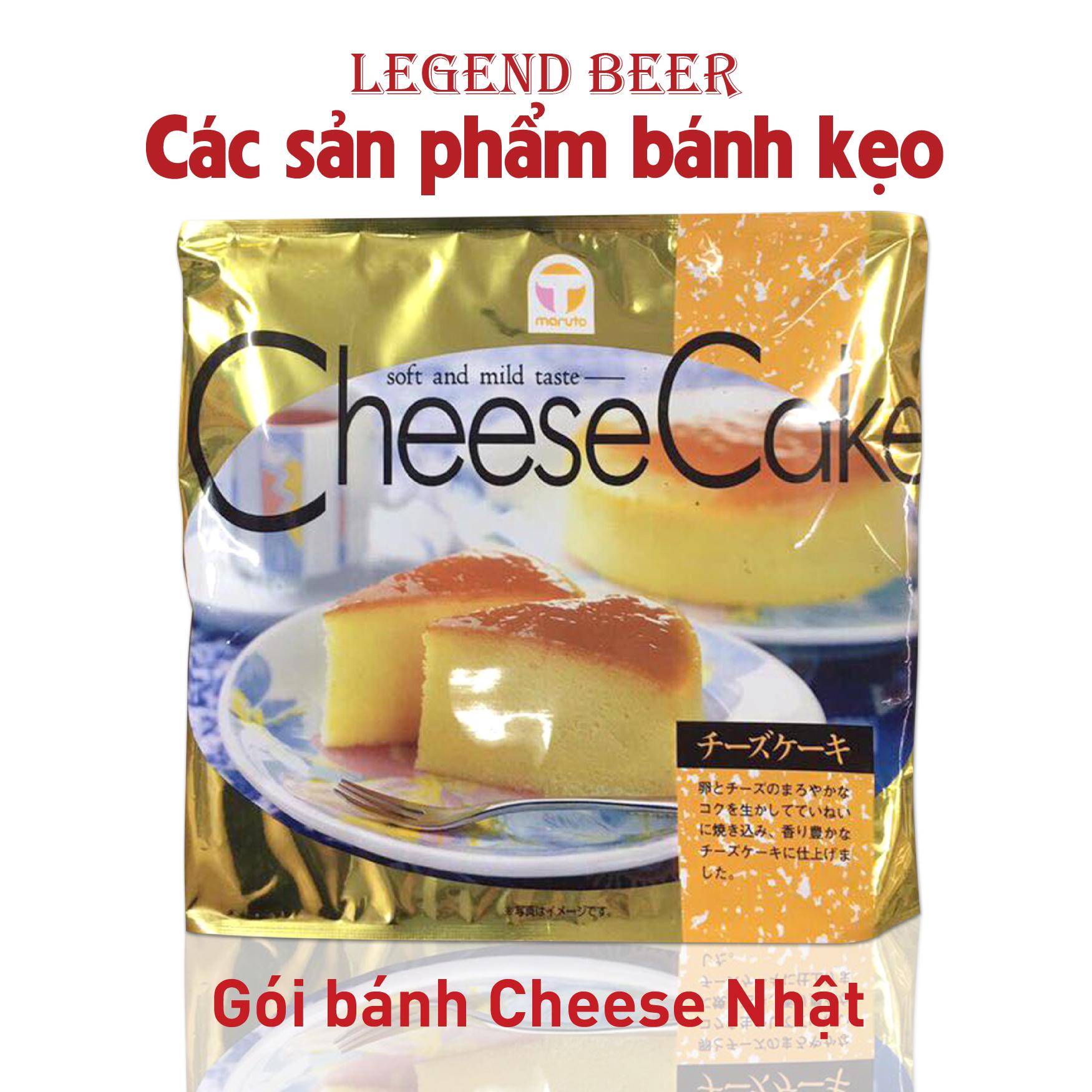 Gói bánh cheese Nhật
