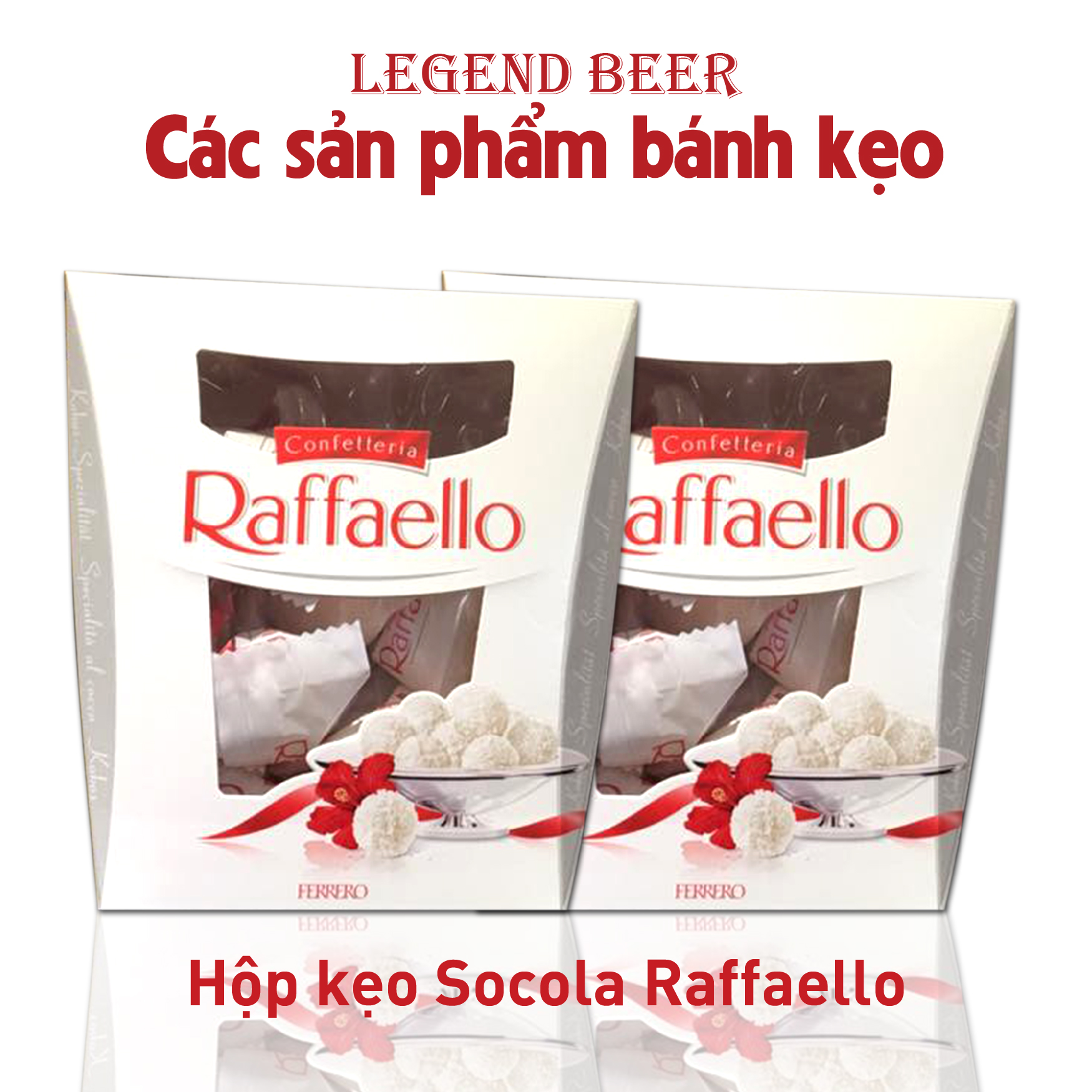 Hộp kẹo socola Raffaello